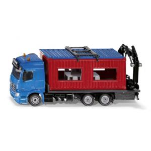 LKW mit Baucontainer