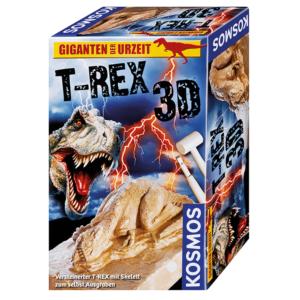 T-REX 3D - Ausgrabung