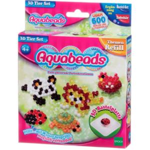 Aquabeads 79908 3D Tier Set 500 Stück