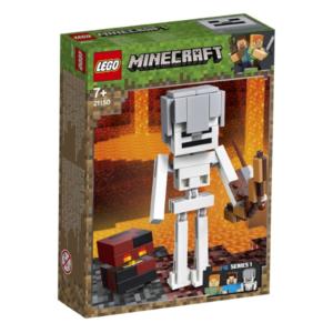 LEGO® Minecraft 21150 BigFig Skelett mit Magmawürfel
