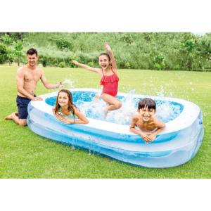 Familienpool Schwimmbecken 262 x 175