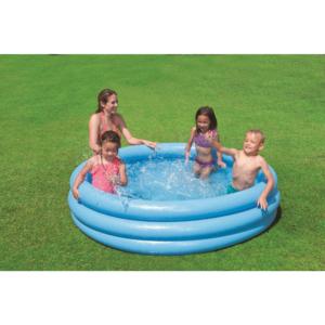 3-Ring-Pool Crystal Blau Ø168 x 38 cm