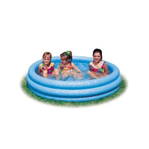 "Pool 3-Ring ""Crystalblue"" 114x25"