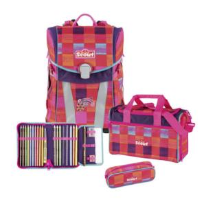 Scout Sunny  Schulranzen-Set  Pink Rainbow