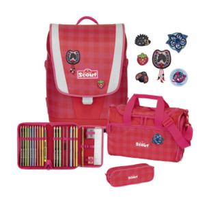 Scout Ultra  Schulranzen-Set  Red Gingham