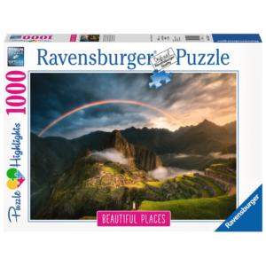 Ravensburger Puzzle - Regenbogen über Machu Picchu, Peru - 1000 Teile