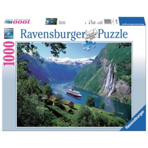 Ravensburger Puzzle - Norwegischer Fjord - 1000 Teile
