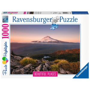 Ravensburger Puzzle - Stratovulkan Mount Hood in Oregon, USA,   1000 Teile