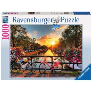 Ravensburger Puzzle - Fahrräder in Amsterdam - 1000 Teile