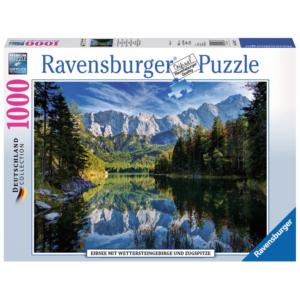 Ravensburger Puzzle - Eibsee mit Wettersteingebirge und Zugspitze - 1000 Teile