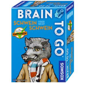 BRAIN TO GO® – Schwein oder nicht Schwein