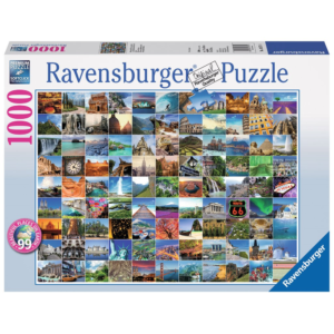Ravensburger Puzzle - 99 Beautiful Places on Earth - 1000 Teile