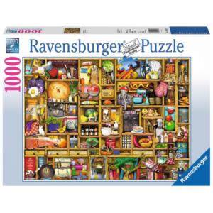 Ravensburger Puzzle - Kurioses Küchenregal - 1000 Teile