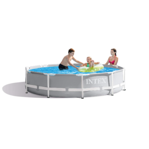 Intex Prism Frame Pool Set incl. Pumpe 3,05mx76cm