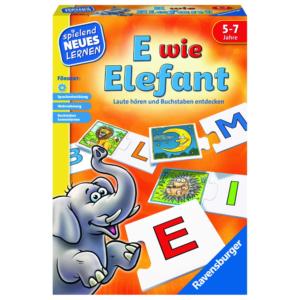 "Ravensburger 24951"" E wie Elefant Lernspiel"