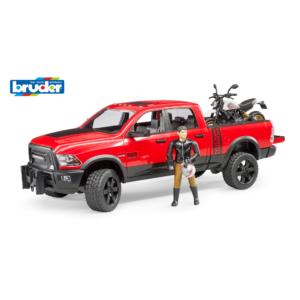 RAM 2500 Power Wagon mit Ducati Desert Sled und F